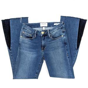 Frame Le Crop Mini Boot Austin Gusset Jeans sz 24